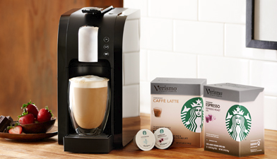 GET 4 FREE BOXES OF PODS W/ PURCHASE OF VERISMO SYSTEM