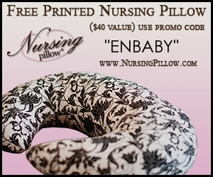FREE NURSING PILLOW – JUST PAY SHIPPING AND HANDLING!
