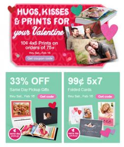 Walgreens photo coupons 10 cent prints