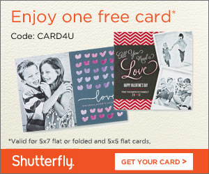 SHUTTERFLY 50% OFF PHOTO BOOKS + MORE thru 3-6-2013