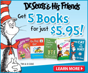 Dr. Seuss and His Friends Book Club just $5.95 + Free 2014 Wall Calendar