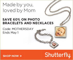 Save 60% on Personalized Shutterfly Photo Bracelets and Necklaces