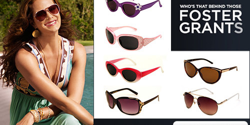 Have fun in the sun w/ Foster Grant Sunglasses