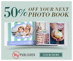 MyPublisher: Save up to 50% off for Fathers Day Photo Book