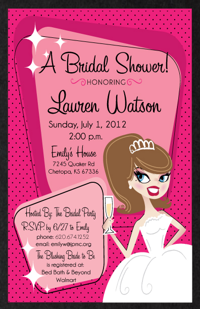 Rockabilly_Pin-up_retro_pinkandblack_bridalshower_invitation