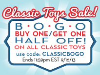 Classic Toys BOGO Sale at Melissa & Doug