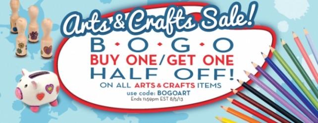 Arts & Crafts BOGO Sale at Melissa & Doug