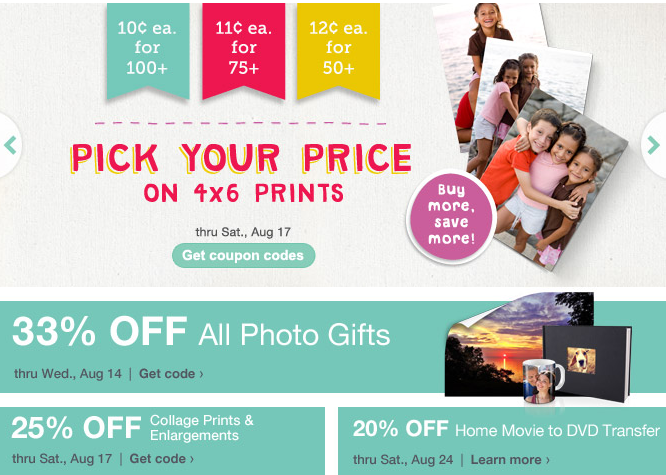 There are 8 Walgreens Photo coupon codes for you to consider including 7 coupon codes, and 1 sale. Most popular now: 75% OFF Photo Books Walgreens Photo Coupon Code. Latest offer: 25% off Walgreens Photo Coupon + Free In-Store Pickup.