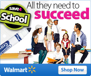 Walmart Annual Back to School Back to College Sale