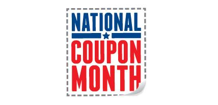 SEPTEMBER IS NATIONAL COUPON MONTH