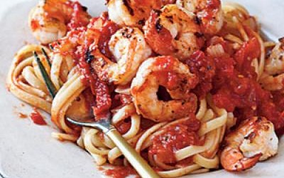 Cooking on a Budget Shrimp Fra Diavolo