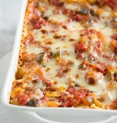 Cooking on a Budget: Fresh Veggie Lasagna for the Fall