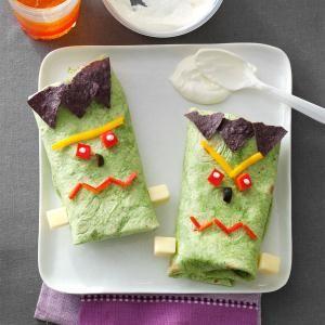 Halloween Burritos
