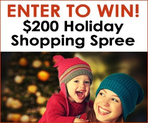 Christmas Sweepstakes for a Holiday Shopping Spree Giveaway