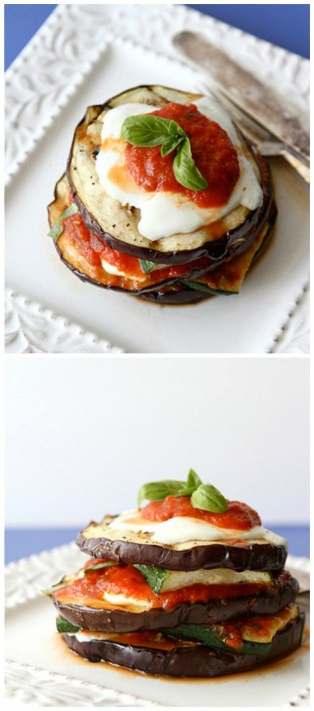 Grilled Eggplant Parmesan - Cooking On A Budget