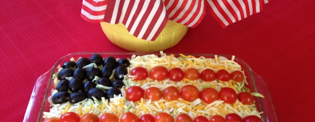Cooking On A Budget: Memorial Day Flag Taco Salad!