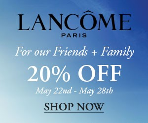 Special Lancome Memorial Day Sale And Freebies for 2016!