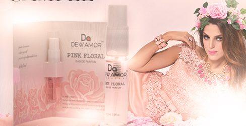 AMAZING Free Sample of Dewamor Pink Floral Perfume!