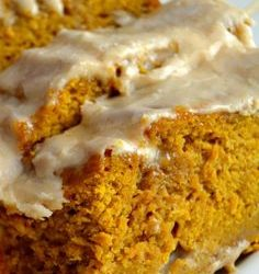 Cooking On A Budget: Maple Glazed Pumpkin Bread