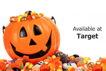 target halloween candy