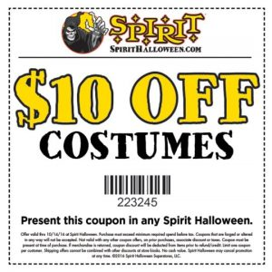 spirit-halloween  sc 1 st  Frugal Fabulous Finds & Youu0027ll Want To Take Advantage Of This $$ Saving Offer At Spirit ...