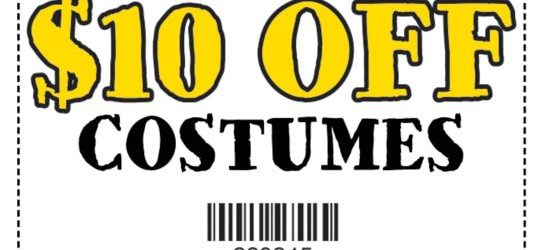 You'll Want To Take Advantage Of This $$ Saving Offer At Spirit Halloween Stores!