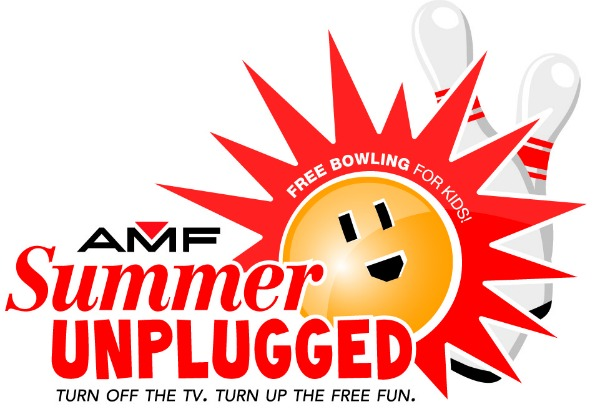 AMF Summer Unplugged ~ Kids Bowl Free All Summer Long!