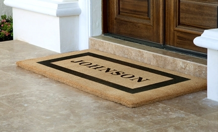 NATIONAL GROUPON DEAL: $50 WORTH PERSONALIZED DOORMATS just $25 + MORE HOT DEALS
