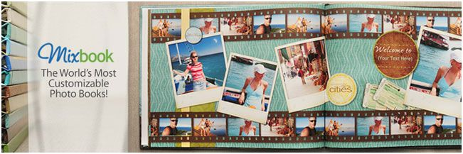 PRODUCT REVIEW+COUPON OFFER+GIVEAWAY: MIXBOOK PHOTO BOOK