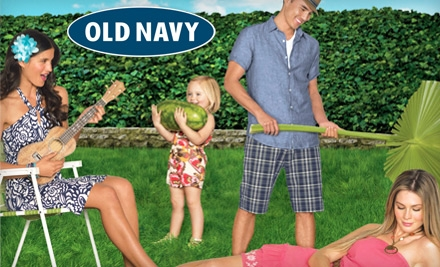 Stop By for the $1.00 Old Navy Flip Flops Special This Month!!