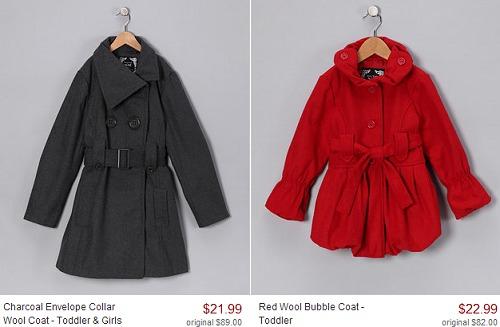 GIRLS WINTER COATS REG $109 just $22.99 TODAY + MORE HOT DEALS