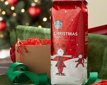 STARBUCKS BOGO FREE CHRISTMAS BLEND COFFEE DEAL – LIVE NOW