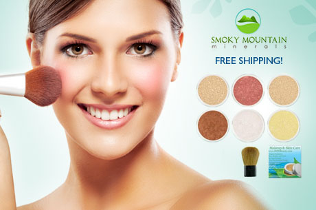 SMOKY MOUNTAIN MINERALS KIT just $16 SHIPPED + MORE