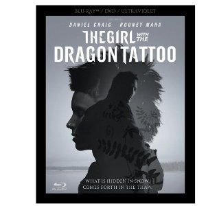 """""""THE GIRL WITH THE DRAGON TATTOO"""" THREE DISC BLU-RAY/DVD COMBO ~ only $19.99 SHIPPED"""