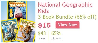 MAMASOURCE NATIONAL DEALS LIST – NATIONAL GEOGRAPHIC KIDS BOOKS + KIDORABLE + MORE