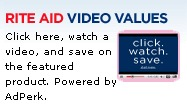RITE AID VIDEO VALUES MAY PRINTABLE COUPONS LIST