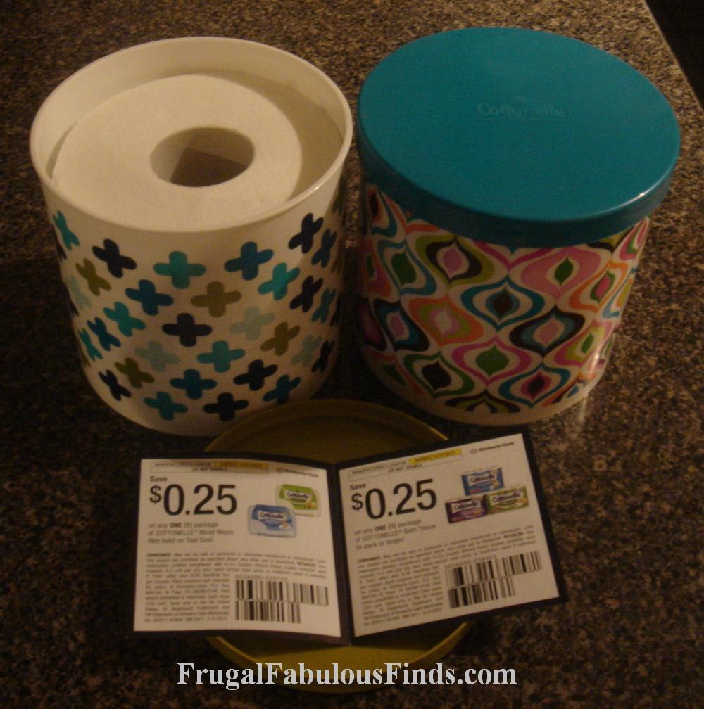 FREE COTTONELLE ROLL COVER W/ BONUS ROLL AT CVS!