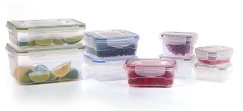 18 PC MICROBAN FOOD STORAGE SET just $20 – TODAY ONLY
