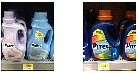 2 PUREX PRINTABLE COUPONS + WALMART DEAL SCENARIOS