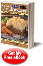 FREE eCOOKBOOK :  16 EASY AMISH RECIPES eBOOK