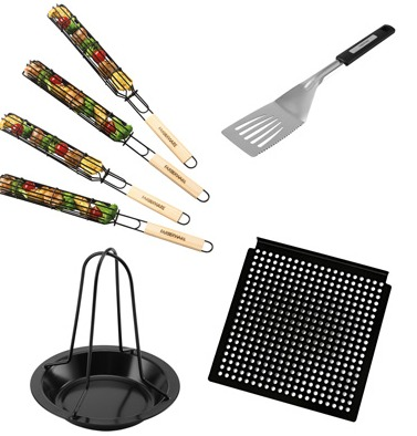 $65 FARBERWARE 7 PC GRILLING SET just $25 – TODAY ONLY DEAL