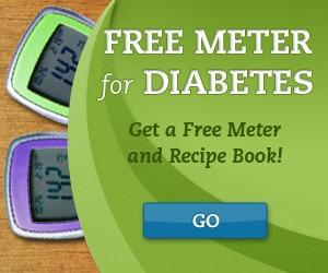 FREE DIABETIC METER + RECIPE BOOK, BLOOD SUGAR TRACKER + MORE