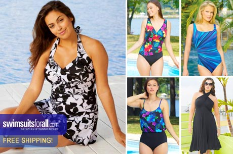 EVERSAVE NATIONAL DEAL: $15 for $30 WORTH NAME BRAND WOMENS SWIMWEAR SIZE 8 & UP + FREE SHIPPING