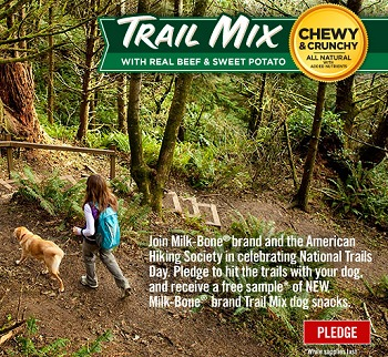 FACEBOOK FREEBIE: FREE SAMPLE of TRAIL MIX FROM MILKBONE