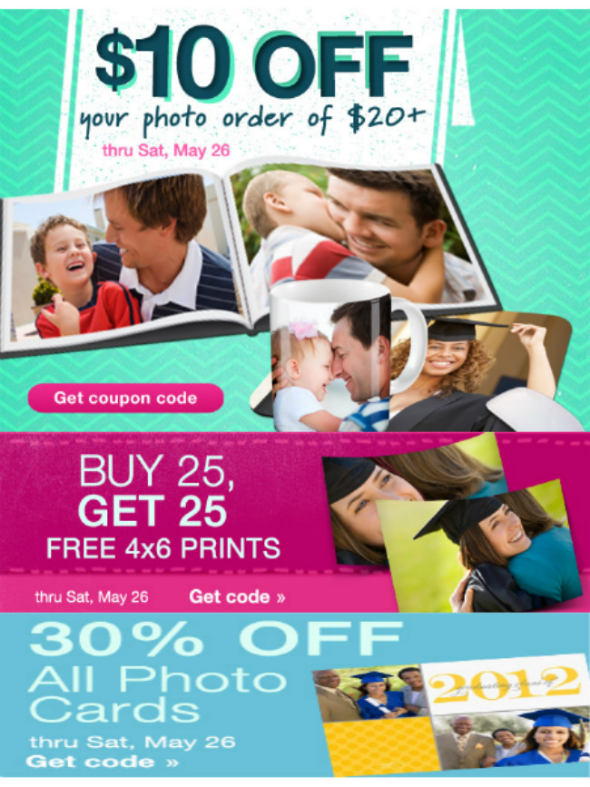 WALGREENS PHOTO DEALS + COUPON CODE LIST THIS WEEK 5-20 thru 5-26