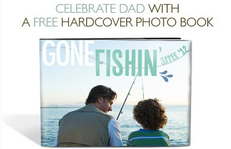FREE HARDCOVER PHOTOBOOK – COUPON CODE FOR FATHER'S DAY FREEBIE