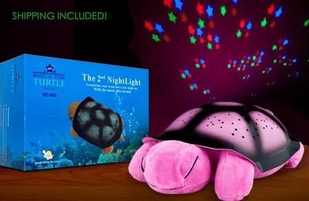 TWILIGHT TURTLE CONSTELLATION NIGHT LIGHT just $15 SHIPPED