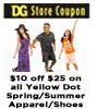 DOLLAR GENERAL PRINTABLE COUPON – $10 off $25 STORE COUPON