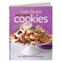 TASTE OF HOME BEST LOVED COOKIES COOKBOOK: LOWEST PRICE EVER !