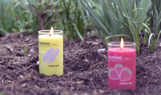 PLUM DISTRICT DEAL : DIAMOND CANDLE just $12